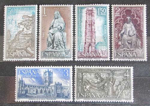 Poštovní známky Španìlsko 1971 Svatý rok Mi# 1903-08