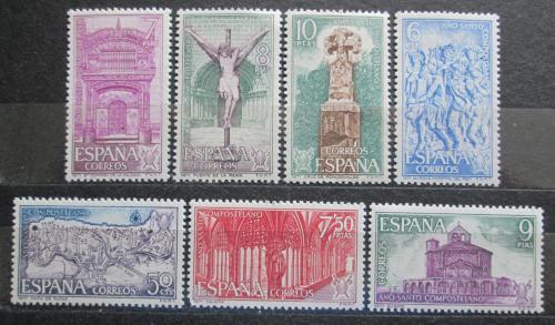 Poštovní známky Španìlsko 1971 Svatý rok Mi# 1942-48