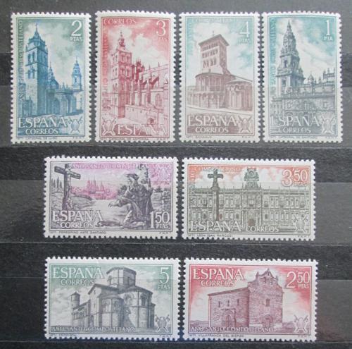 Poštovní známky Španìlsko 1971 Svatý rok Mi# 1958-65