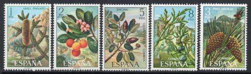 Poštovní známky Španìlsko 1972 Flóra Mi# 1980-84