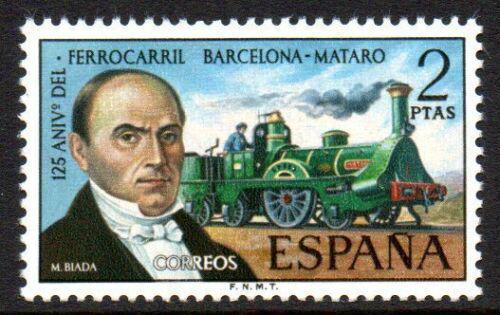Poštovní známka Španìlsko 1974 Železnice Mi# 2068