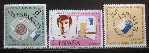 Poštovní známky Španìlsko 1974 Výstava ESPAÒA Mi# 2069-71