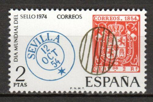 Poštovní známka Španìlsko 1974 Svìtový den známek Mi# 2074