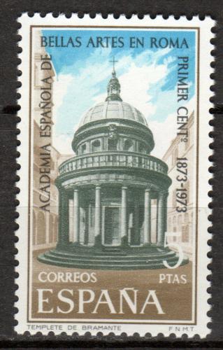 Poštovní známka Španìlsko 1974 Kostel San Pietro Mi# 2078