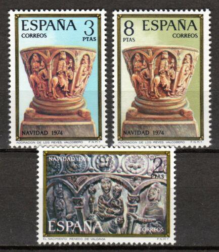 Poštovní známky Španìlsko 1974 Vánoce Mi# 2112-14