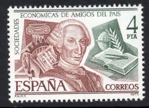 Poštovní známka Španìlsko 1977 Král Karel III. Mi# 2288