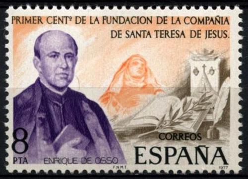 Poštovní známka Španìlsko 1977 Enrique de Ossó Mi# 2302