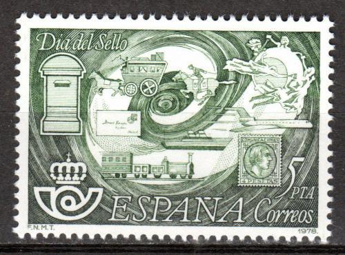 Poštovní známka Španìlsko 1978 Den známek Mi# 2372