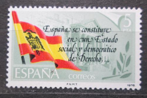 Poštovní známka Španìlsko 1978 Nová ústava Mi# 2399