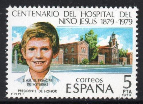 Poštovní známka Španìlsko 1979 Princ Filip Mi# 2440