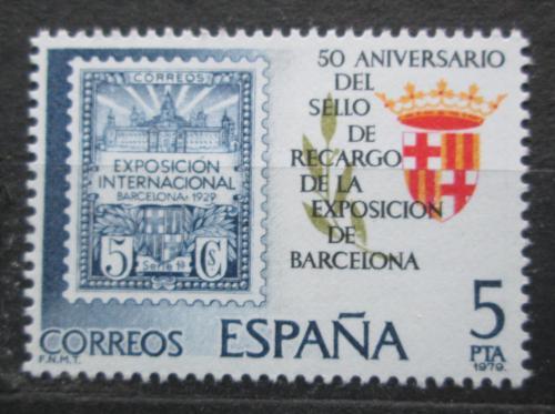 Poštovní známka Španìlsko 1979 Výstava známek v Barcelonì Mi# 2441