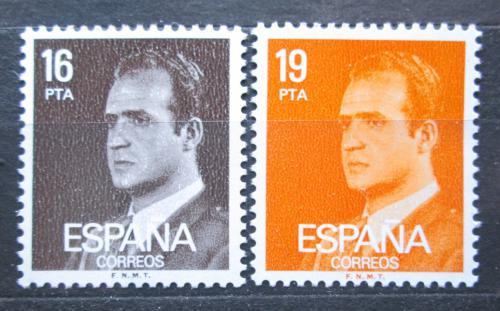 Poštovní známky Španìlsko 1980 Král Juan Carlos I. Mi# 2450-51