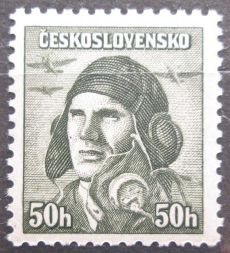 Poštovní známka Èeskoslovensko 1945 Alois Vašátko Mi# 445