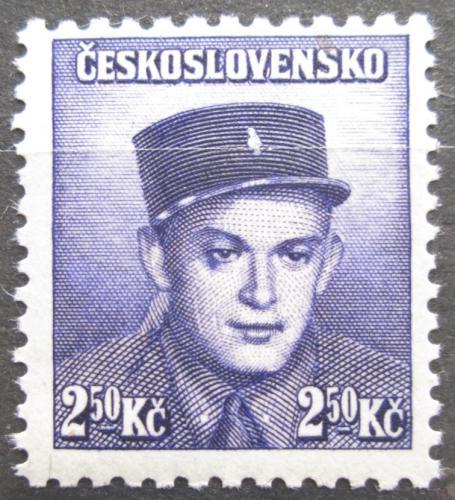 Poštovní známka Èeskoslovensko 1945 Stanislav Cimprich Mi# 450