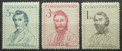 Poštovní známky Èeskoslovensko 1948 Významní Slováci Mi# 546-48