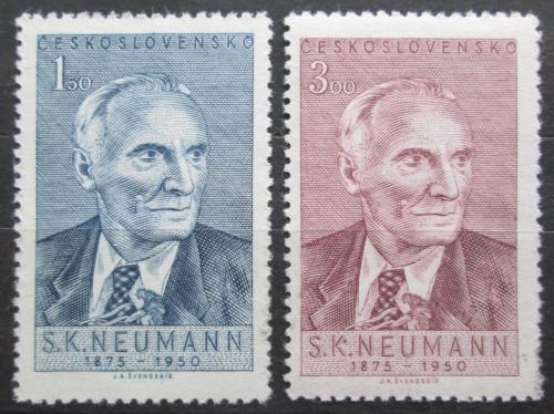 Poštovní známky Èeskoslovensko 1950 S. K. Neumann Mi# 618-19
