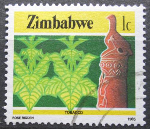 Poštovní známka Zimbabwe 1985 Tabák Mi# 309 A