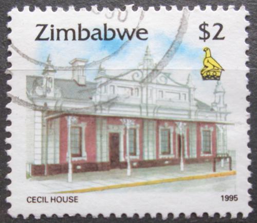 Poštovní známka Zimbabwe 1995 Dùm v Harare Mi# 551