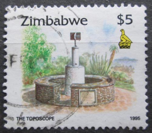Poštovní známka Zimbabwe 1995 Mìøící bod na hoøe Kopje Mi# 552