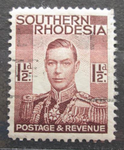 Poštovní známka Jižní Rhodésie, Zimbabwe 1937 Král Jiøí VI. Mi# 44