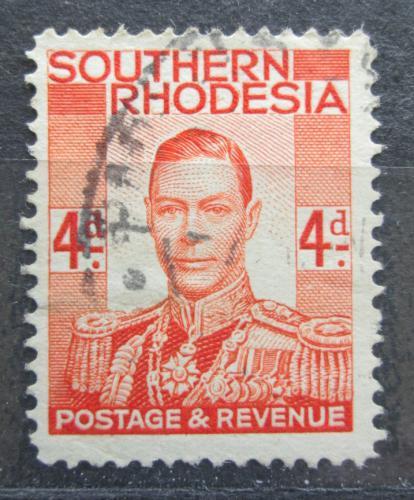 Poštovní známka Jižní Rhodésie, Zimbabwe 1937 Král Jiøí VI. Mi# 45