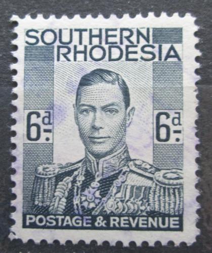 Poštovní známka Jižní Rhodésie, Zimbabwe 1937 Král Jiøí VI. Mi# 46