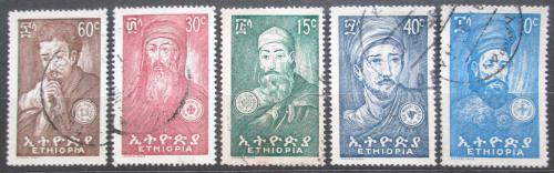Poštovní známky Etiopie 1964 Etiopští vùdci Mi# 464-68