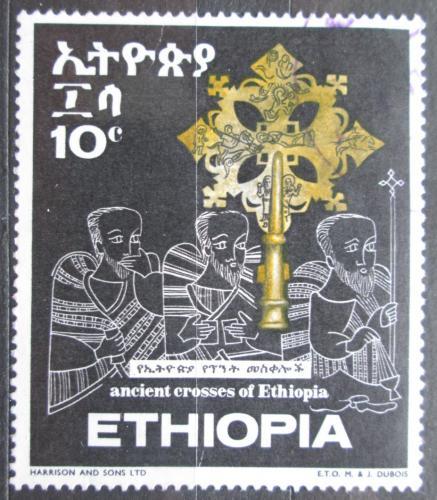 Poštovní známka Etiopie 1969 Køíž Tøí králù Mi# 629