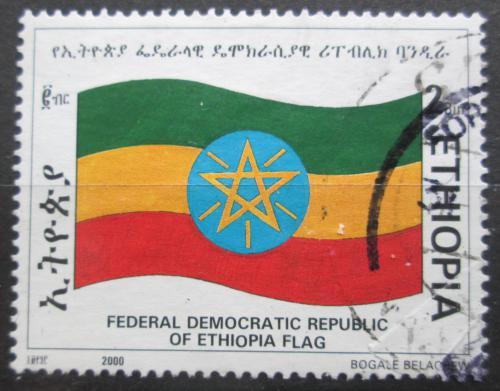 Poštovní známka Etiopie 2000 Státní vlajka Mi# 1694