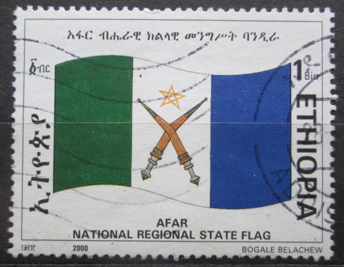 Poštovní známka Etiopie 2000 Vlajka Afar Mi# 1693
