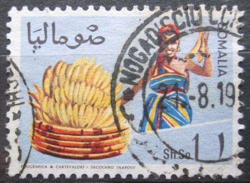 Poštovní známka Somálsko 1968 Dívka s banány Mi# 127