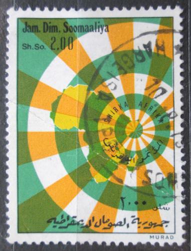 Poštovní známka Somálsko 1974 Africká jednota Mi# 207