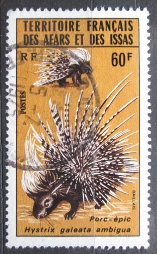 Poštovní známka Afars a Issas 1975 Dikobraz Mi# 123