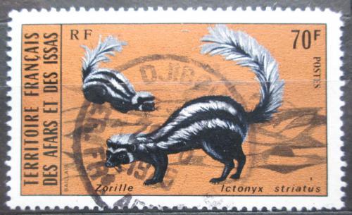 Poštovní známka Afars a Issas 1975 Zorila velká Mi# 124