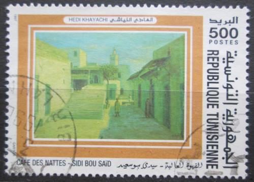 Poštovní známka Tunisko 1997 Umìní, Hedi Khayachi Mi# 1375