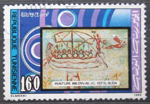 Poštovní známka Tunisko 1986 Tuniské dìjiny Mi# 1129