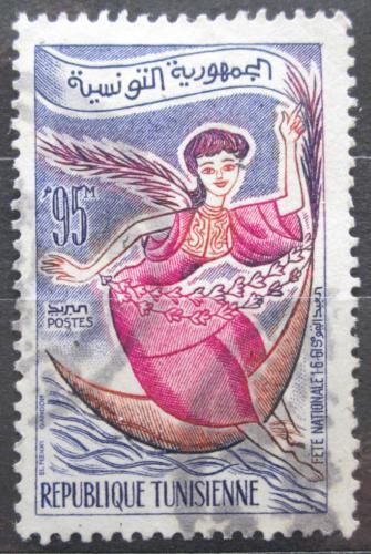 Poštovní známka Tunisko 1961 Alegorie Mi# 586