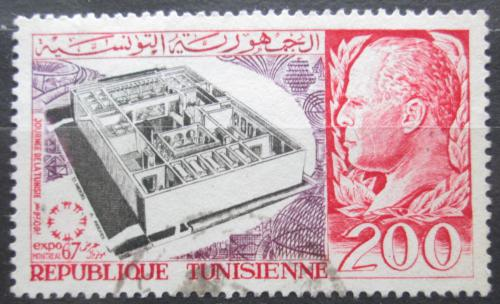 Poštovní známka Tunisko 1967 Výstava EXPO Mi# 678