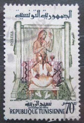 Poštovní známka Tunisko 1959 Výroba kobercù Mi# 536