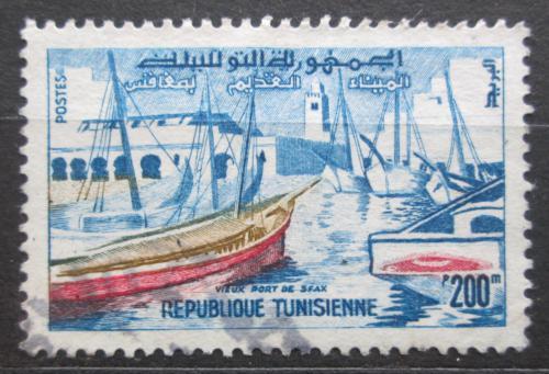 Poštovní známka Tunisko 1959 Pøístav Sfax Mi# 541