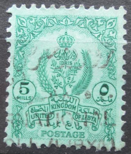 Poštovní známka Libye 1960 Státní znak Mi# 95