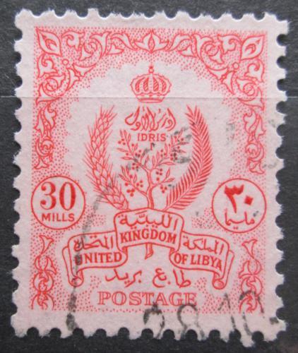 Poštovní známka Libye 1960 Státní znak Mi# 99