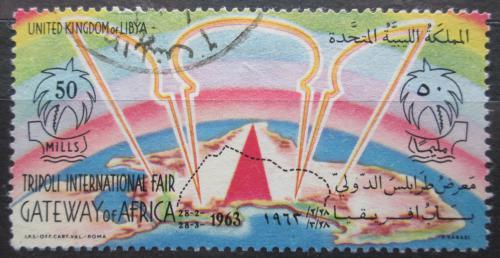 Poštovní známka Libye 1963 Mezinárodní veletrh v Tripolisu Mi# 135