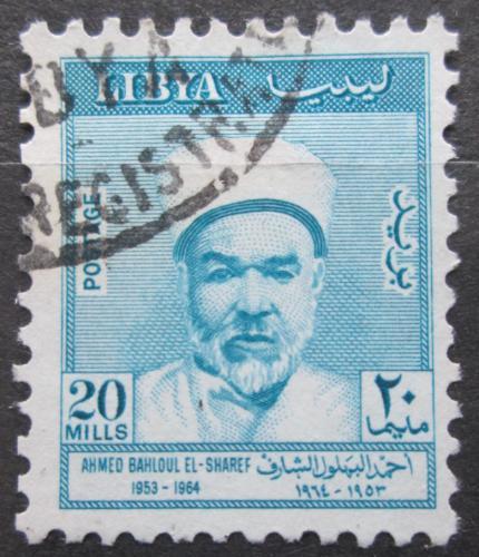 Poštovní známka Libye 1964 Ahmed Bahloul El-Sharif, básník Mi# 159