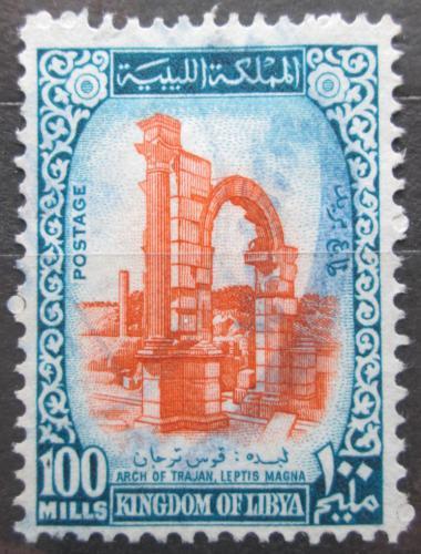 Poštovní známka Libye 1965 Traianùv oblouk Mi# 201