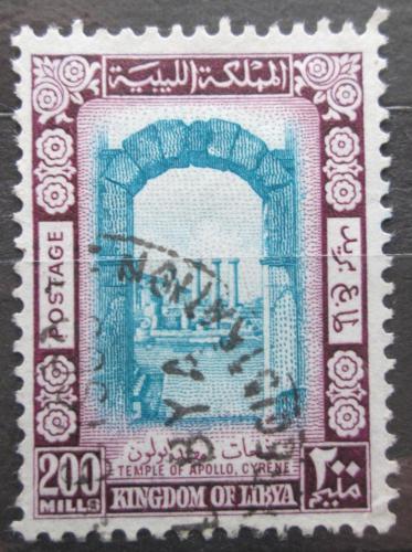 Poštovní známka Libye 1965 Apollùv chrám Mi# 202
