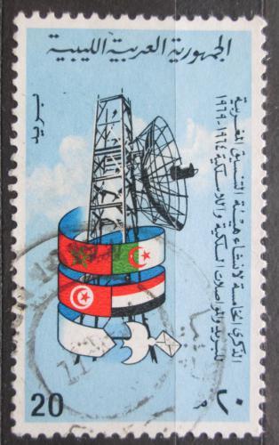 Poštovní známka Libye 1970 Radar Mi# 300