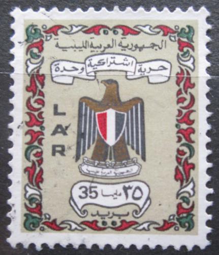 Poštovní známka Libye 1972 Státní znak Mi# 364