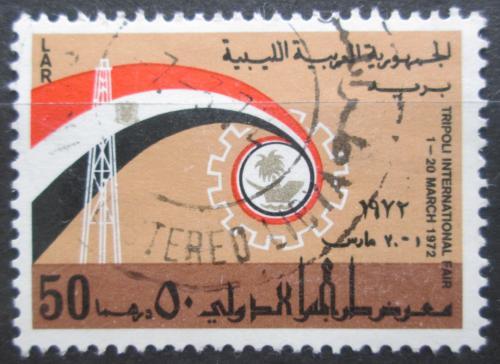 Poštovní známka Libye 1972 Mezinárodní veletrh v Tripolisu Mi# 385
