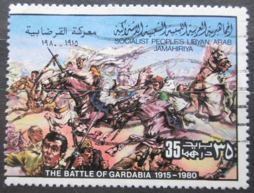 Poštovní známka Libye 1980 Povstání proti italské kolonizaci Mi# 814